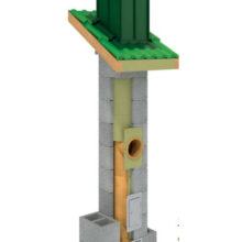 Ceramiczny komin systemowy