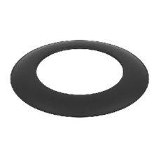 Rozeta z czarnej stali