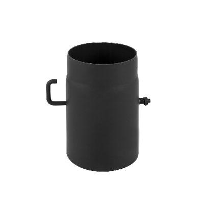 Szyber kominowy z czarnej stali
