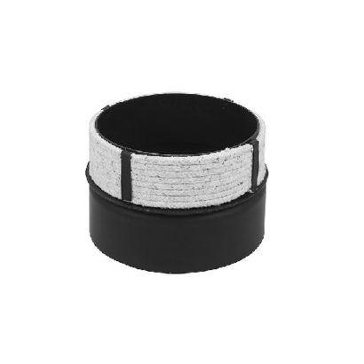 Wkładka do kominów ceramicznych z czarnej stali