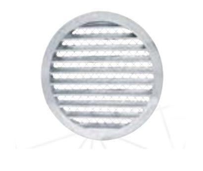 Kratka ścienna aluminiowa
