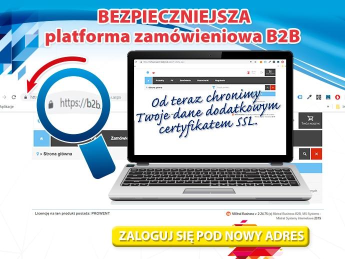 Platforma B2B Prowent Białystok 1